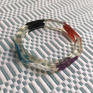 CHANEL Jewelry - CHANEL multicolor lucite bracelet